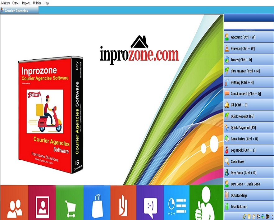 Inprozone Courier Agencies Software – Inprozone Solutions
